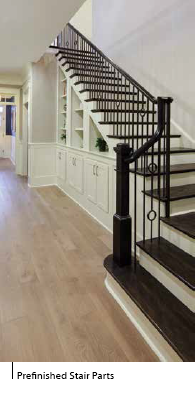 Prefinished Stair Parts