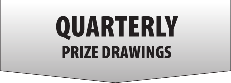 Quarterly Prize Drawings Button